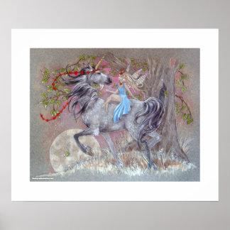 PRINT - Unicorn Fairy Valentine