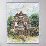 print....victorian house