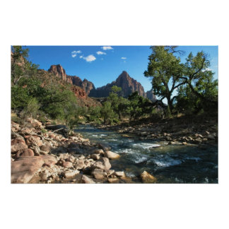 Print: Virgin River And Watchman Poster