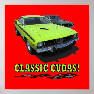 """Print with """"CLASSIC CUDAS!"""" design"""