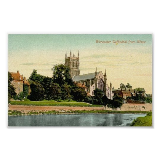 Print - Worcester Cathedral