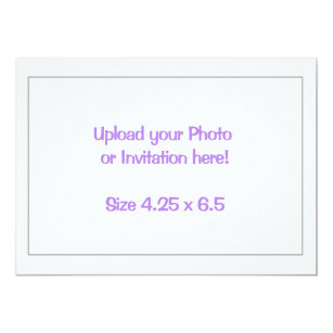 print own design invitations zazzle