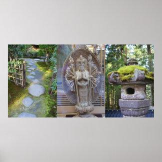 """Print """"Zen Garden"""" by Adela Stefanov"""