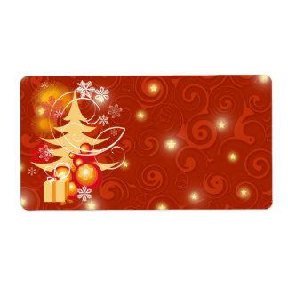 Printable  Christmas present gift labels