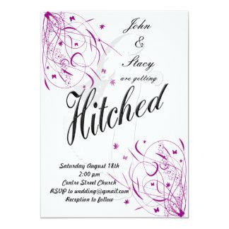 Printable Elegant Wedding Invite