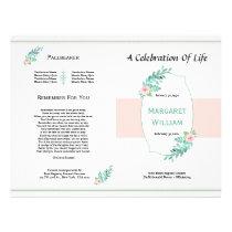 Printable Funeral Brochure Template