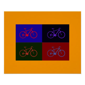 printed bicycles ~ bikes for walls print