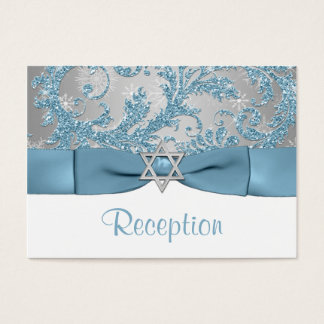 PRINTED Bow - Winter Wonderland Bat Mitzvah Insert