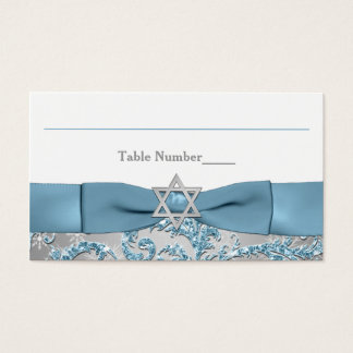 PRINTED Bow - Winter Wonderland Place Card