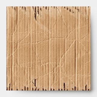 Printed Cardboard Texture Square Envelopes