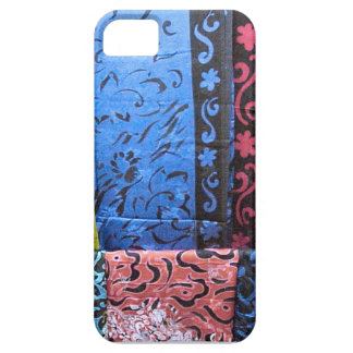 Printed Chinese silk, Singapore iPhone 5 Cases