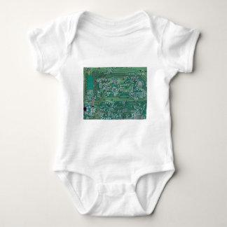 Printed circuit board baby bodysuit