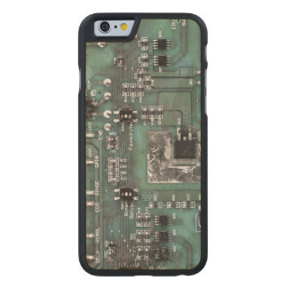 Printed Circuit Board iPhone Case Carved® Maple iPhone 6 Case