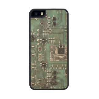 Printed Circuit Board iPhone Case Carved® Maple iPhone 5 Case