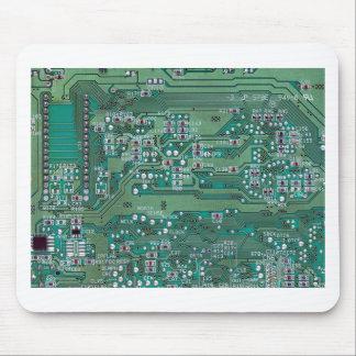 Printed circuit board mouse pad