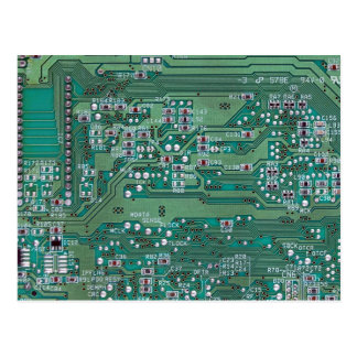 Printed circuit board postcard