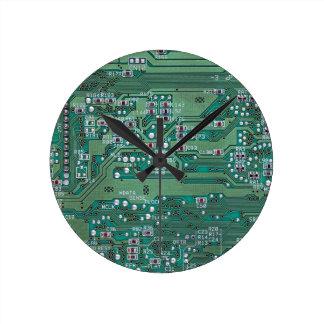 Printed circuit board round clock