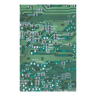 Printed circuit board stationery
