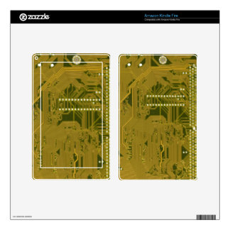 Printed Circuit board wiring Decals For Kindle Fire