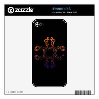 Printed Custom Vinyl Device Protection Skin Skin For iPhone 4S