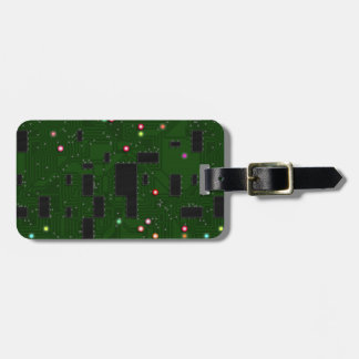Printed Electronic Circuit Board Bag Tag