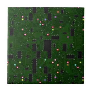 Printed Electronic Circuit Board Ceramic Tile
