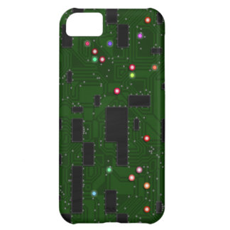 Printed Electronic Circuit Board Cover For iPhone 5C