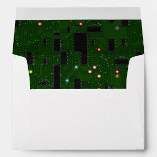 Printed Electronic Circuit Board Envelope