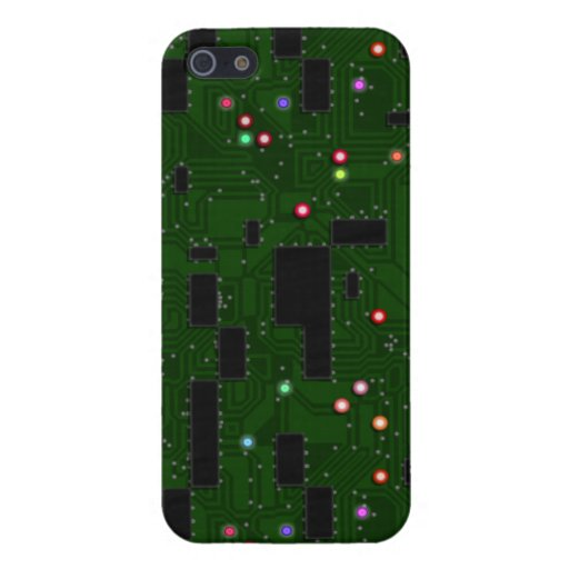 Printed Electronic Circuit Board Covers For iPhone 5