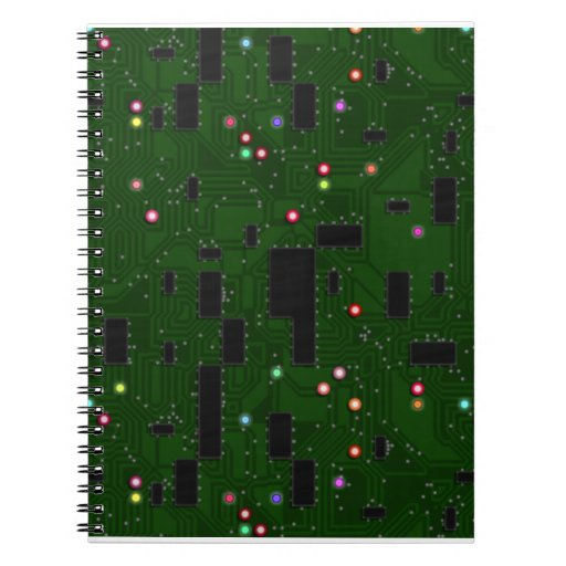 Printed Electronic Circuit Board Note Book