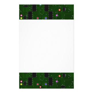Printed Electronic Circuit Board Stationery