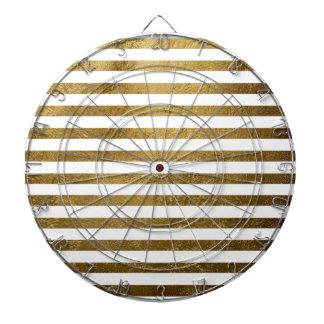 printed golden color stripes dart boards