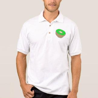 Printed Kiwi Polo Shirts
