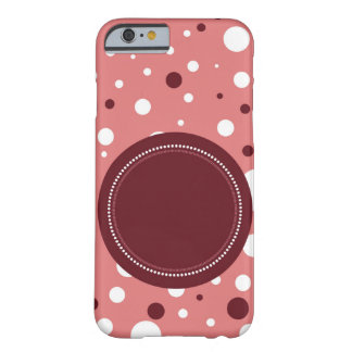 printed pink white and mauve hull personnalisable barely there iPhone 6 case