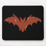 Printed Rhinestone Bat Mousemats