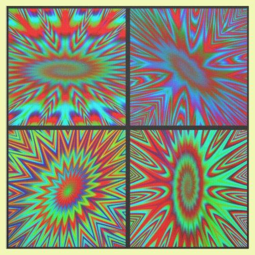 Printed Tie Dye