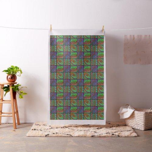 Printed Tie Dye Fabric