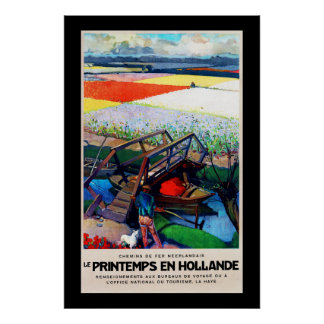 Printemps in Hollande ~ Spingtime Poster