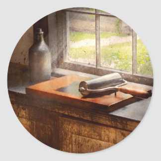 Printer - A hope and a brayer Classic Round Sticker