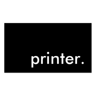 printer. Double-Sided standard business cards (Pack of 100)