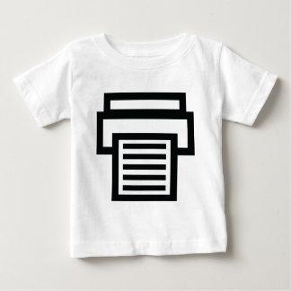 printer icon baby T-Shirt