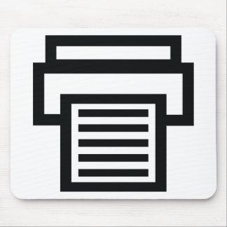 printer icon mouse pad