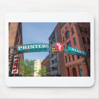 Printer's Alley Mouse Pad