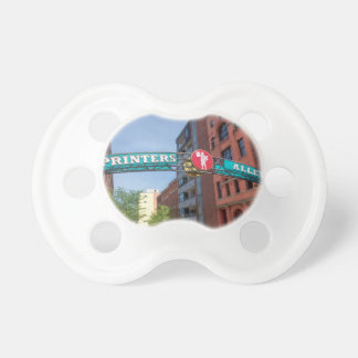 Printer's Alley Pacifier