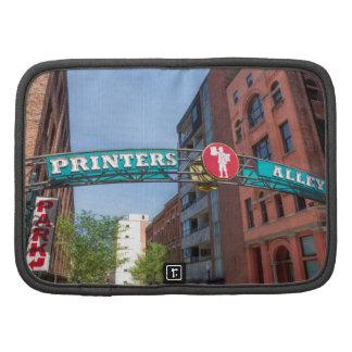 Printer's Alley Planner