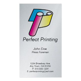 Printers & Lithographers_Perfect Printing Business Card
