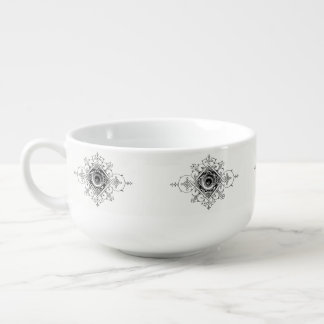Printer's Mark Soup Bowl