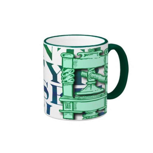 Printing Press Coffee Mug