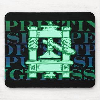 Printing Press Mouse Pad