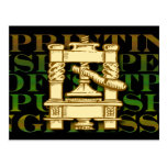 Printing Press Postcard
